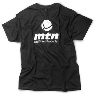 MTN Basic Logo T-Shirt black Take12 Berlin Graffiti Art