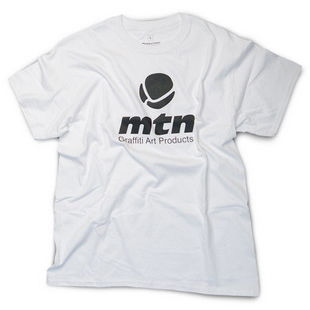 MTN Basic Logo T-Shirt white Take12 Graffiti Berlin
